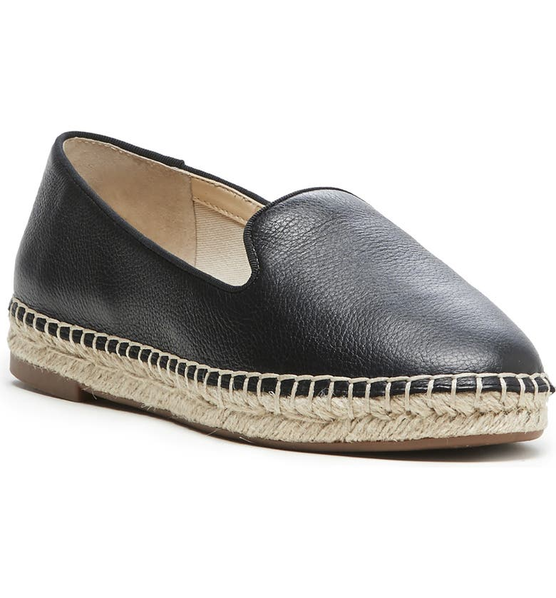 SOLE SOCIETY Sammah Espadrille Loafer, Main, color, 001