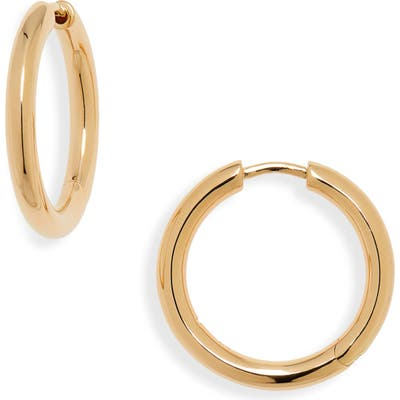 Tom Wood Medium Classic Hoop Earrings