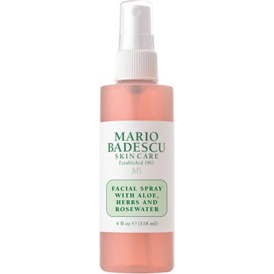 Mario Badescu Facial Spray With Aloe, Herbs & Rosewater, oz