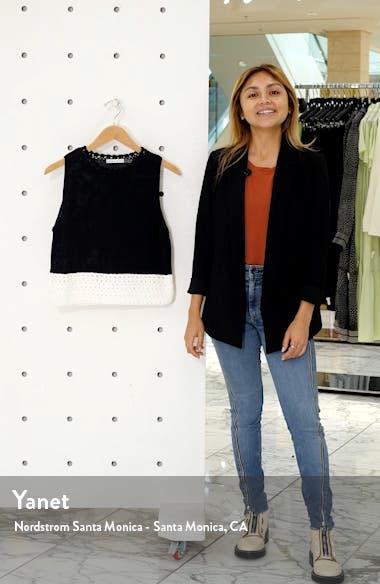 Rosaline Sleeveless Sweater, sales video thumbnail