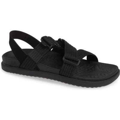 Native Shoes Zurich Vegan Sandal, Black