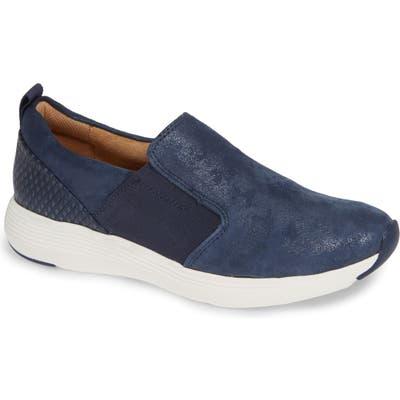 Comfortiva Nicole Slip-On Sneaker- Blue