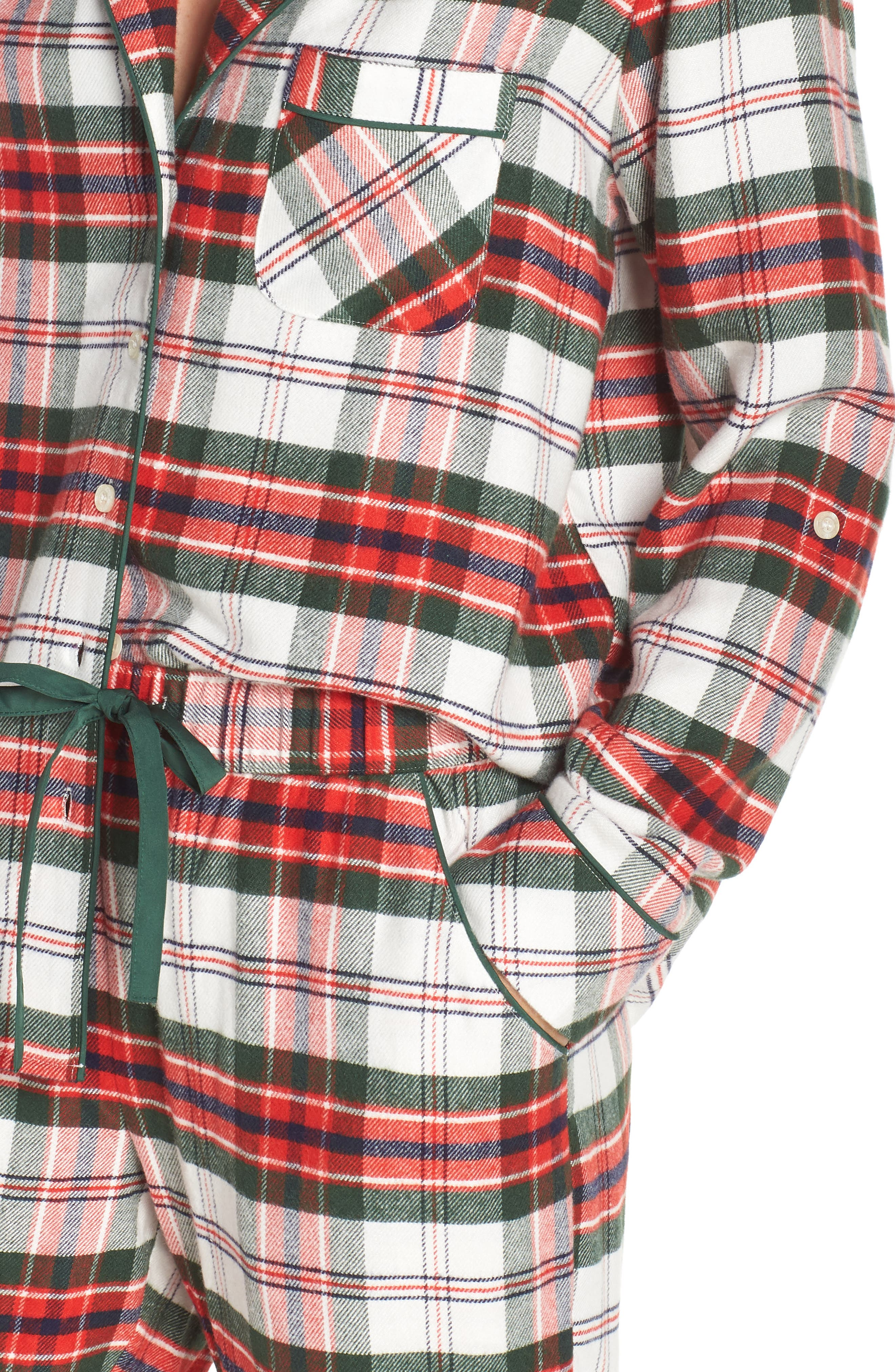 ,                             Lingerie Starlight Flannel Pajamas,                             Alternate thumbnail 28, color,                             900