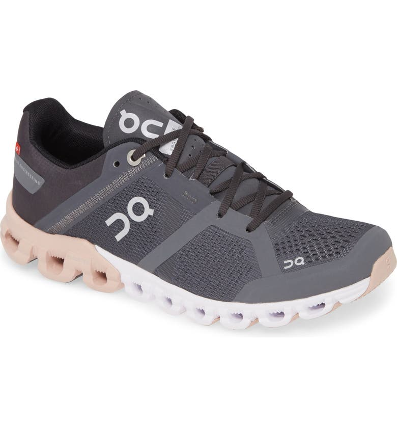 ON Cloudflow Running Shoe, Main, color, ROCK/ ROSE