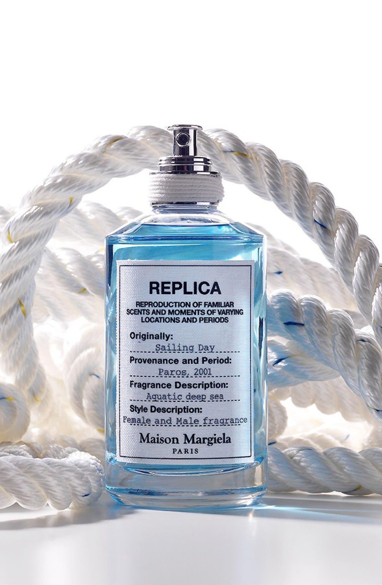,                             Replica Sailing Day Eau de Toilette Spray,                             Alternate thumbnail 6, color,                             NO COLOR
