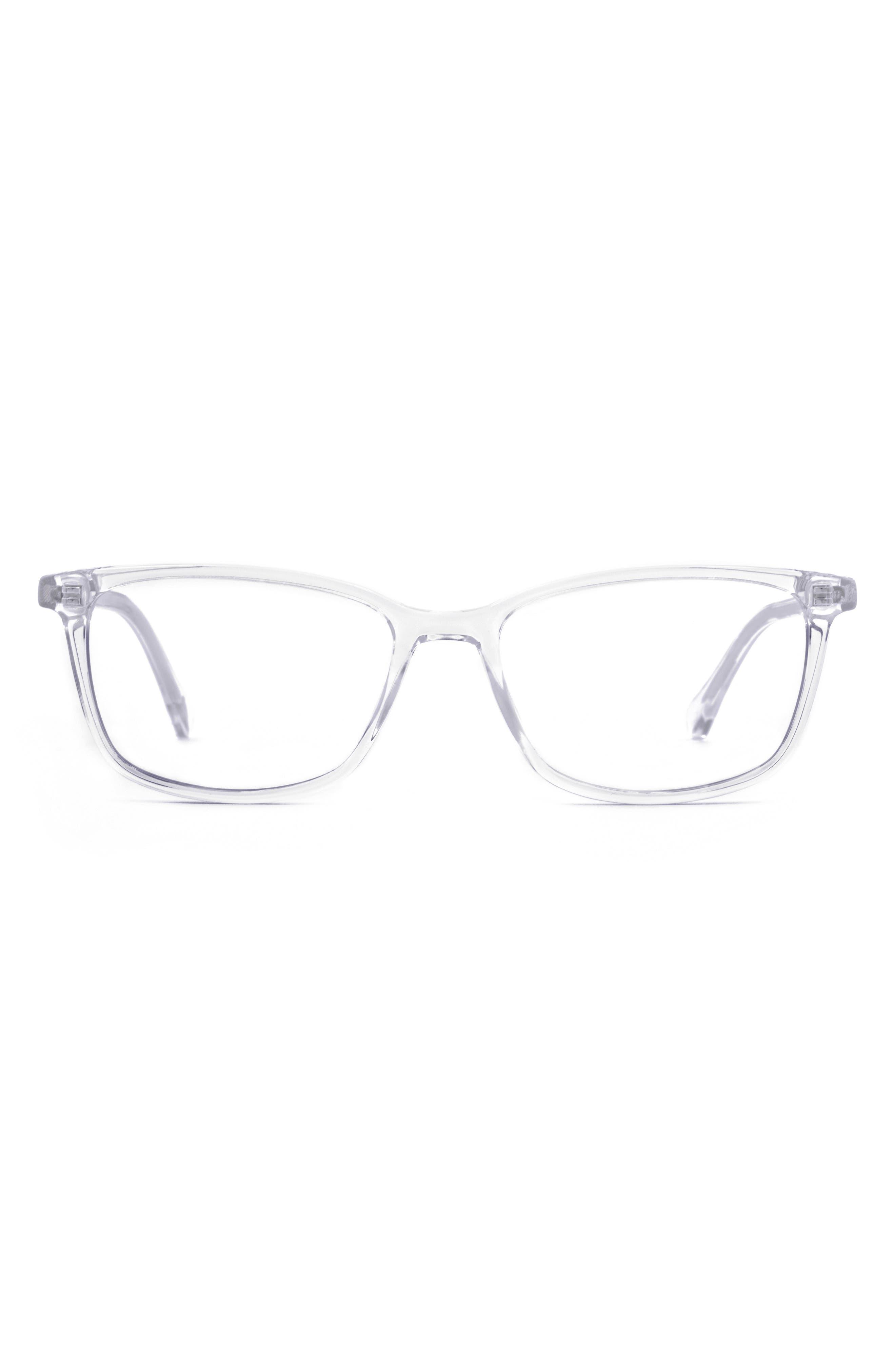 Faraday 53mm Rectangle Blue Light Blocking Glasses
