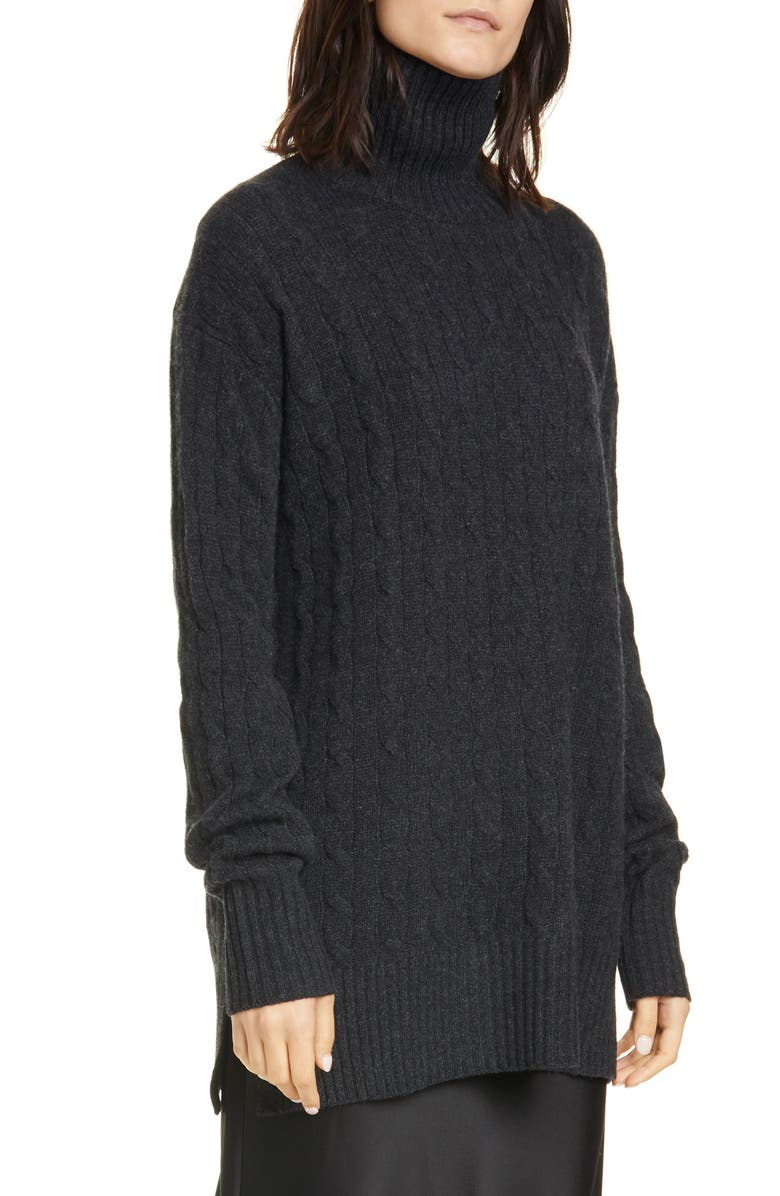POLO RALPH LAUREN Wool & Cashmere Tunic Sweater, Main, color, 020