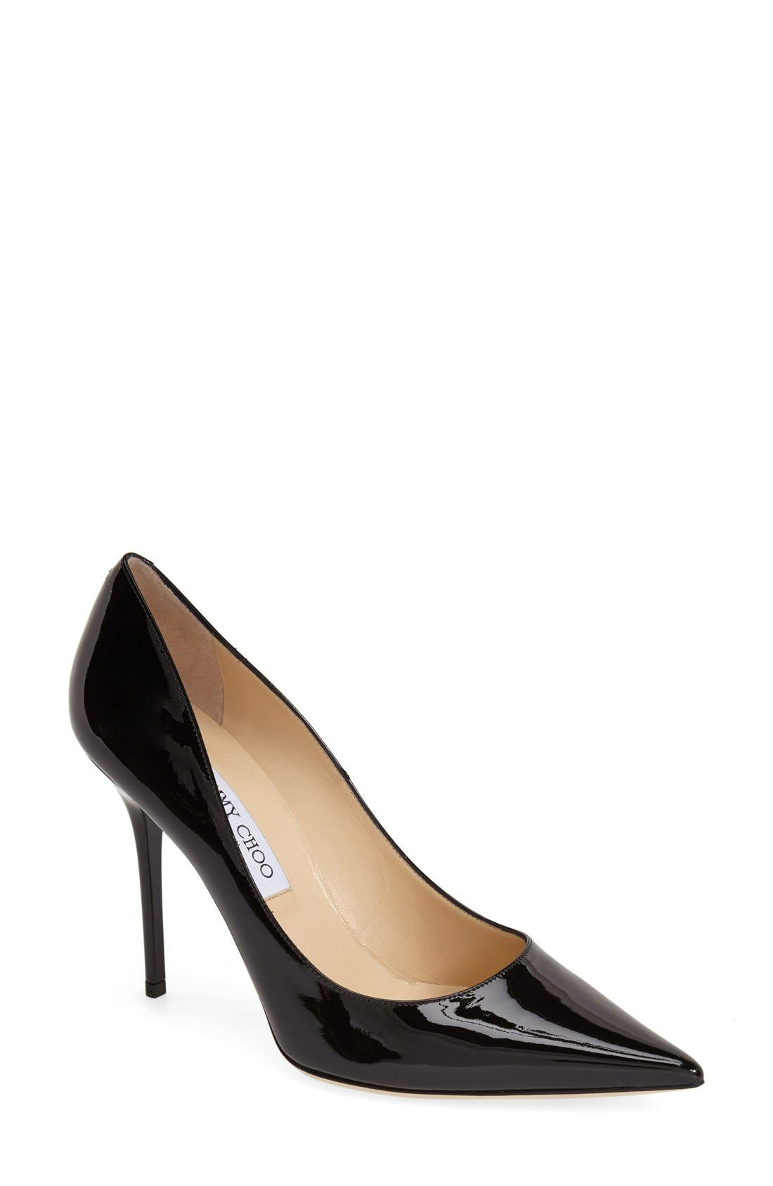 'Abel' Pointy Toe Pump, Main, color, 001