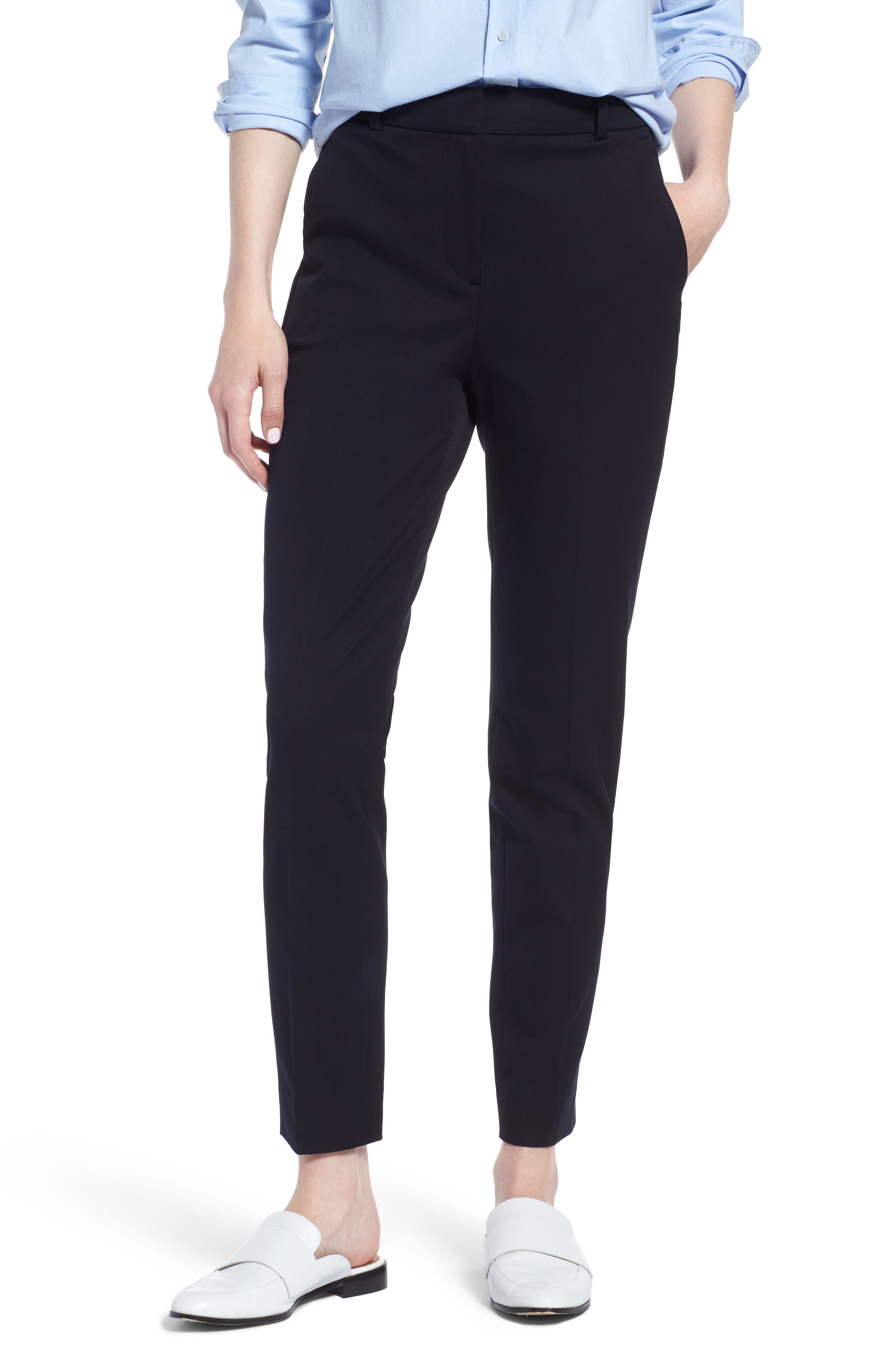 J.Crew Cameron Seasonless High Rise Crop Pants (Regular & Petite)