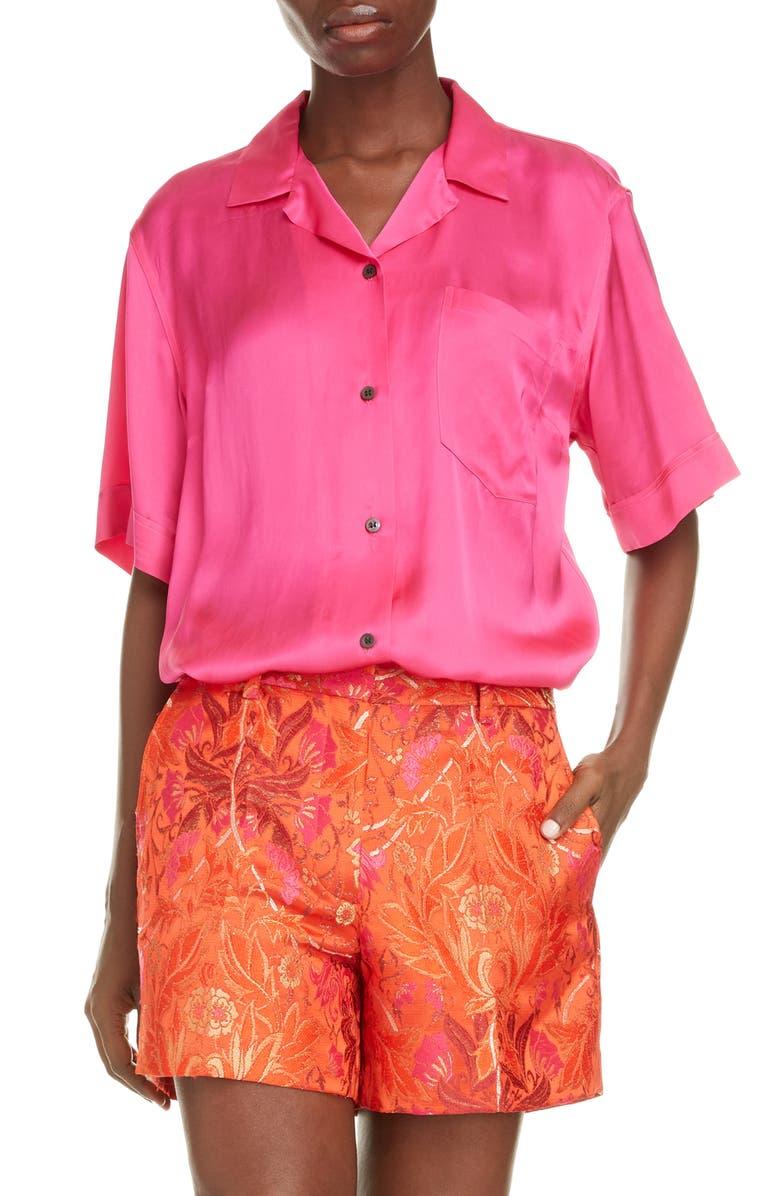 DRIES VAN NOTEN Clive Shirt, Main, color, 650
