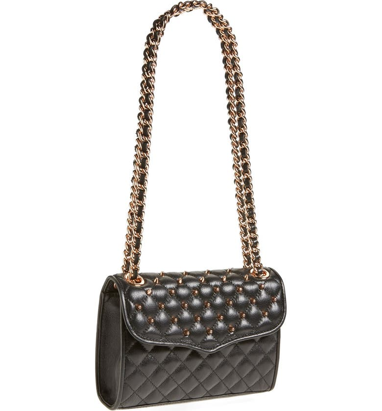good texture wholesale price great deals 2017 Rebecca Minkoff 'Mini Quilted Affair with Studs' Shoulder Bag ...