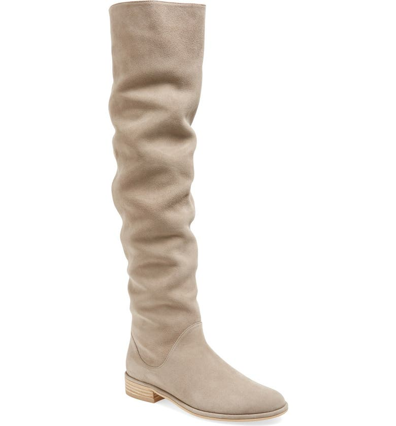 STUART WEITZMAN 'Rockerchic' Tall Suede Boot, Main, color, 210
