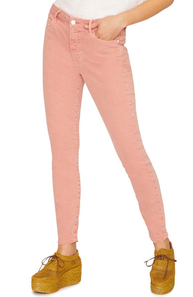 SANCTUARY Social Standard Ankle Skinny Jeans, Main, color, 950
