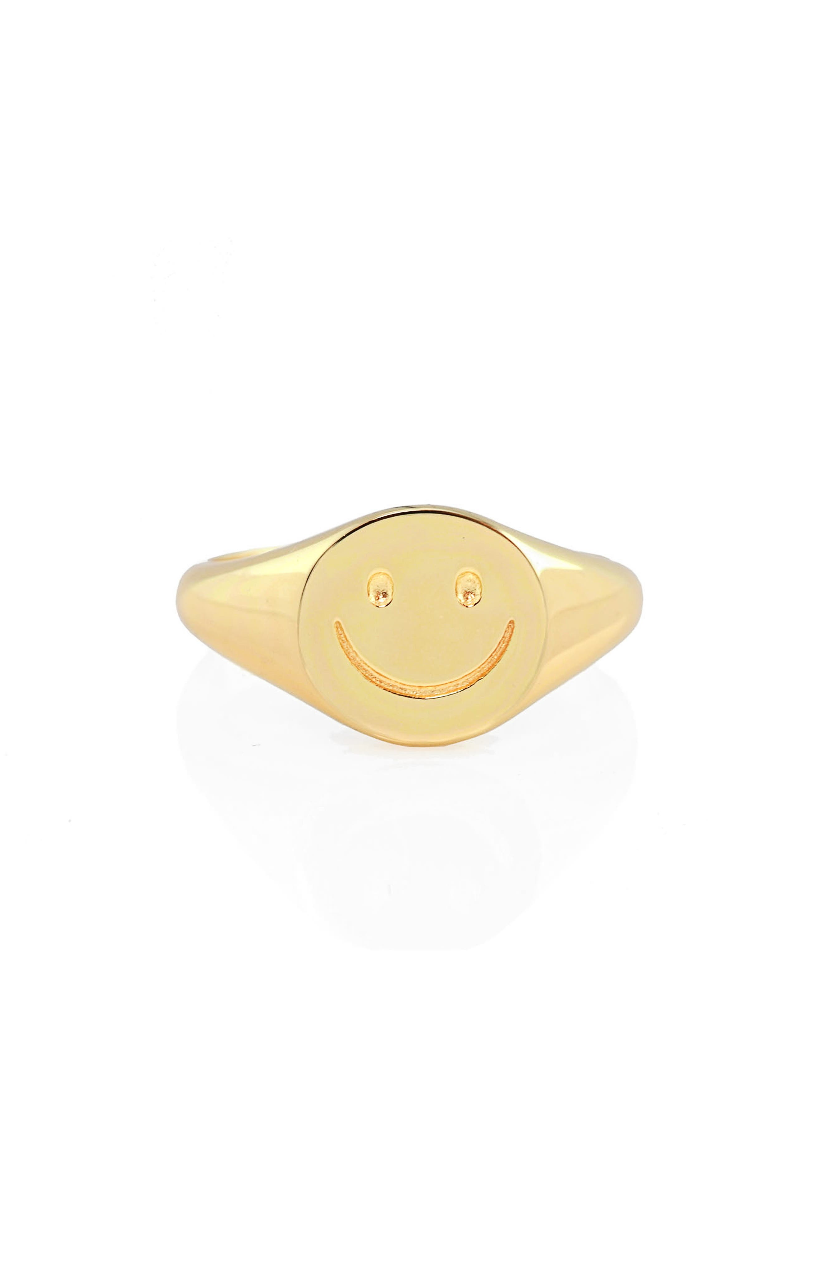 Happy Signet Ring