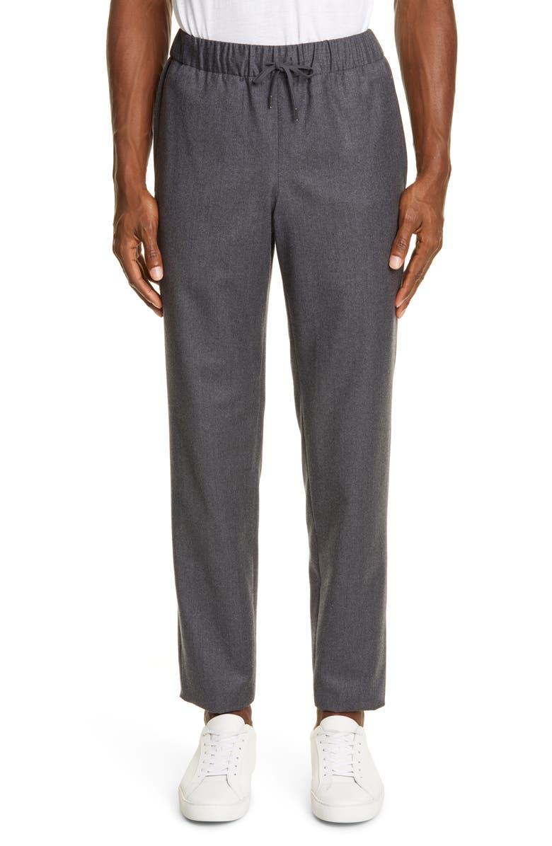 A.P.C. Kaplan Straight Leg Jogger Pants, Main, color, PLA GRIS CHINE