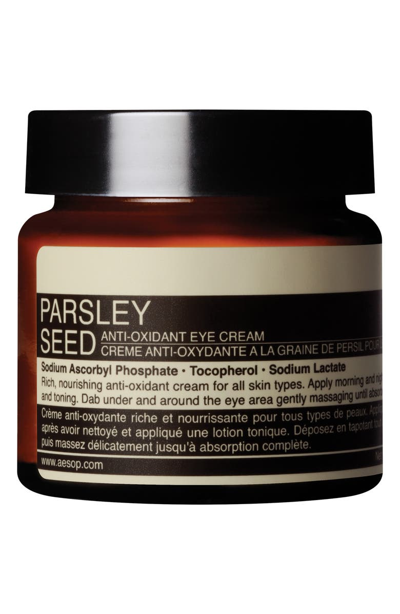 AESOP Parsley Seed Anti-Oxidant Eye Cream, Main, color, NONE