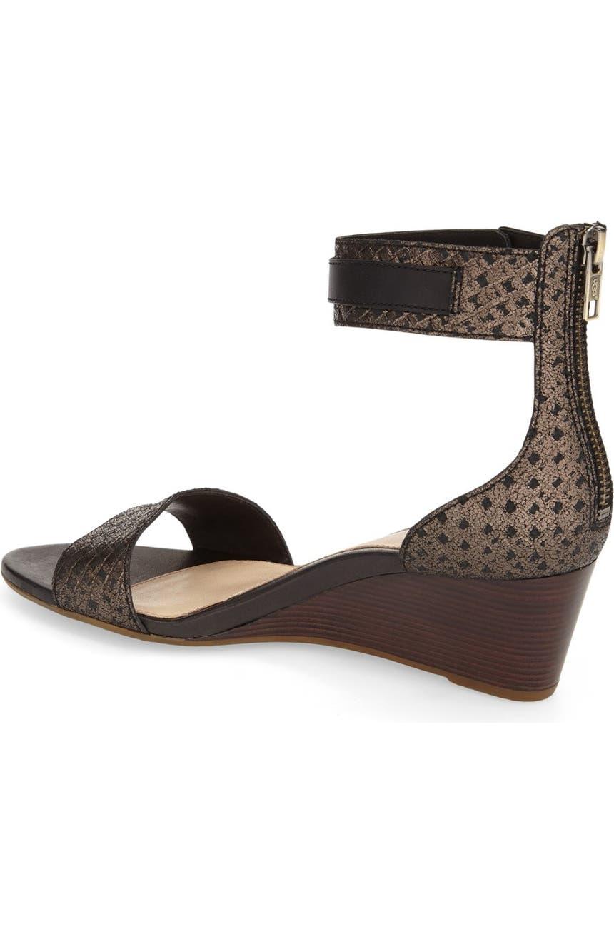 0a3e849f226 'Char' Ankle Strap Wedge Sandal