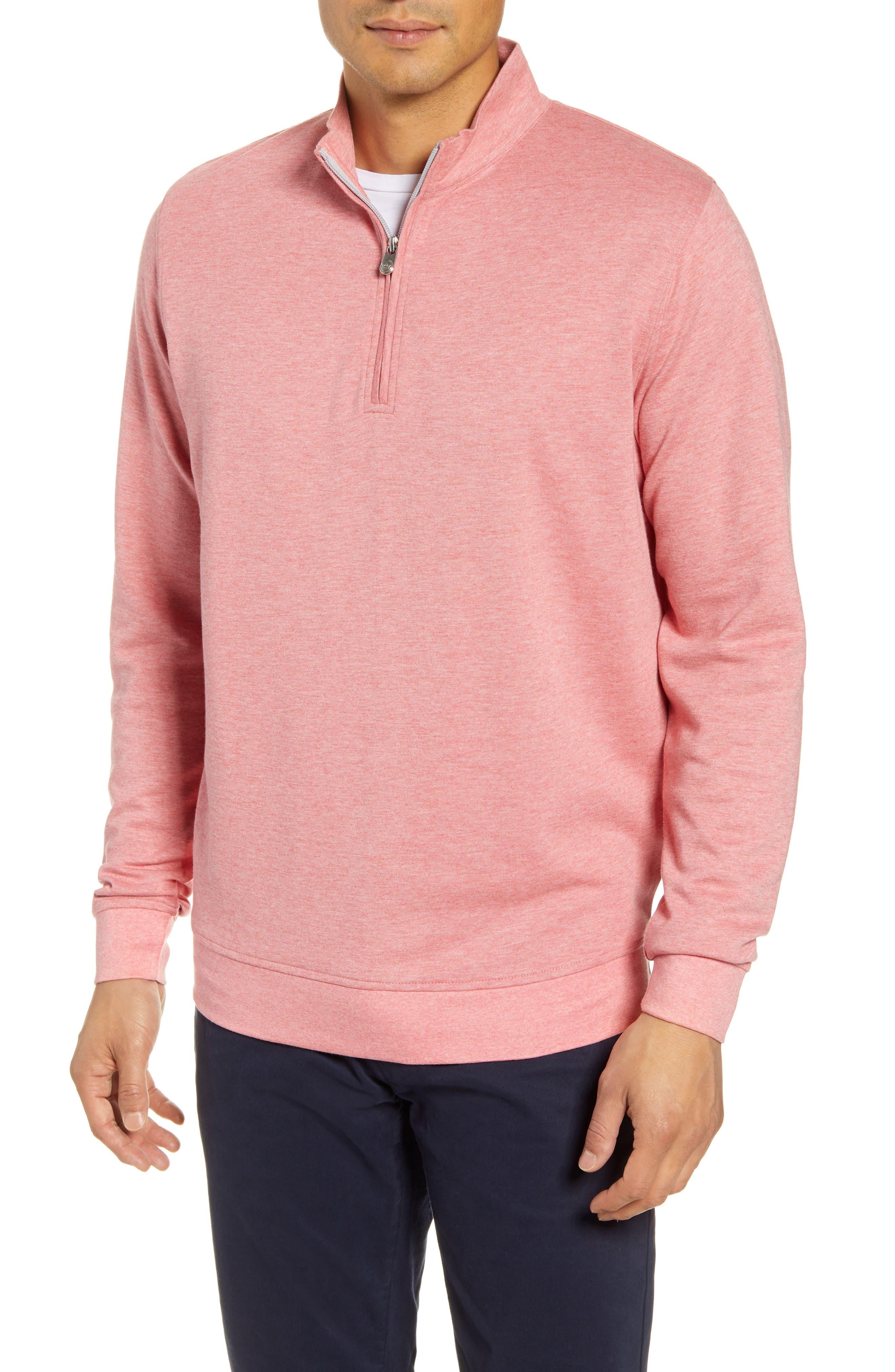 Image of Peter Millar Quarter Zip Knit Pullover
