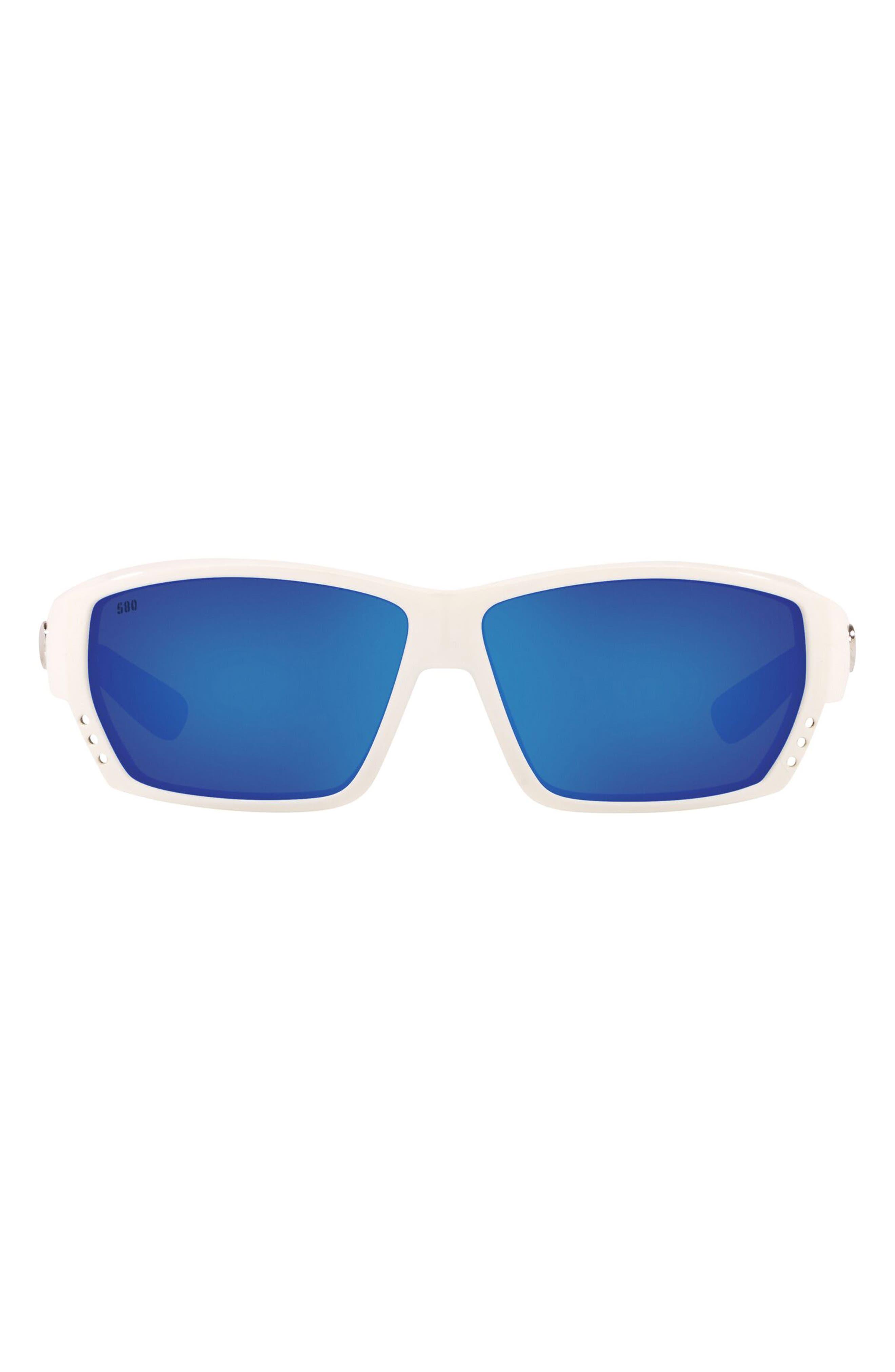 62mm Polarized Wraparound Sunglasses