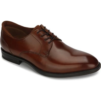Kenneth Cole New York Futurepod Plain Toe Derby- Brown