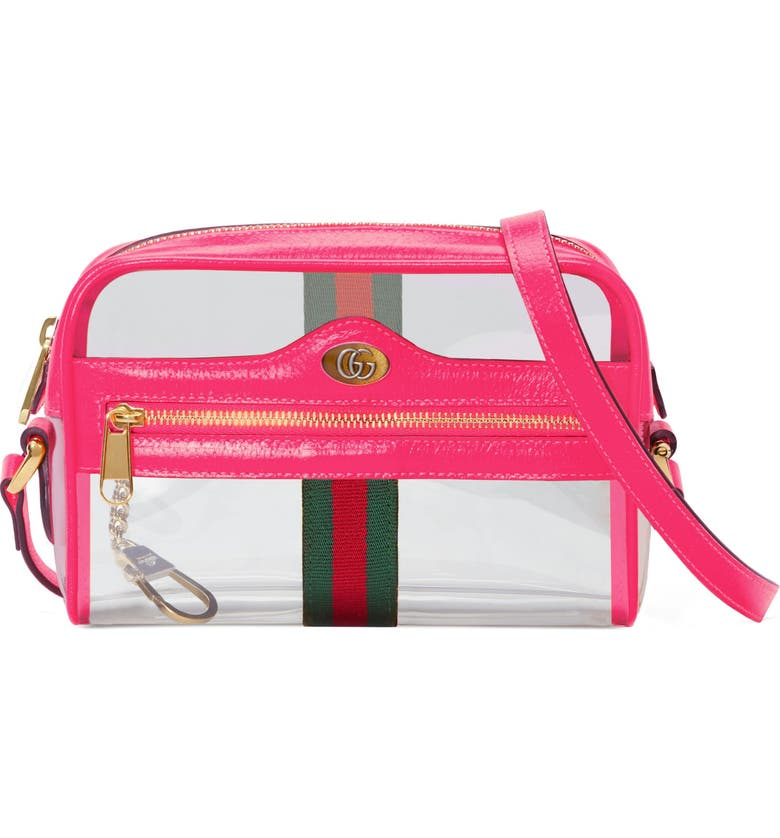 f284f4bcd Ophidia Transparent Convertible Bag, Main, color, 650