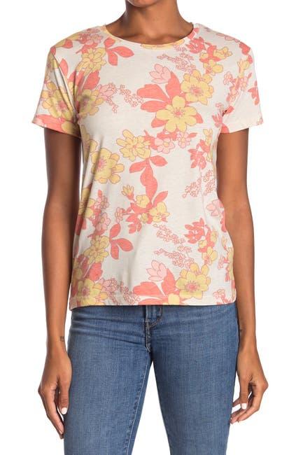 Image of Chaser Vintage Floral T-Shirt