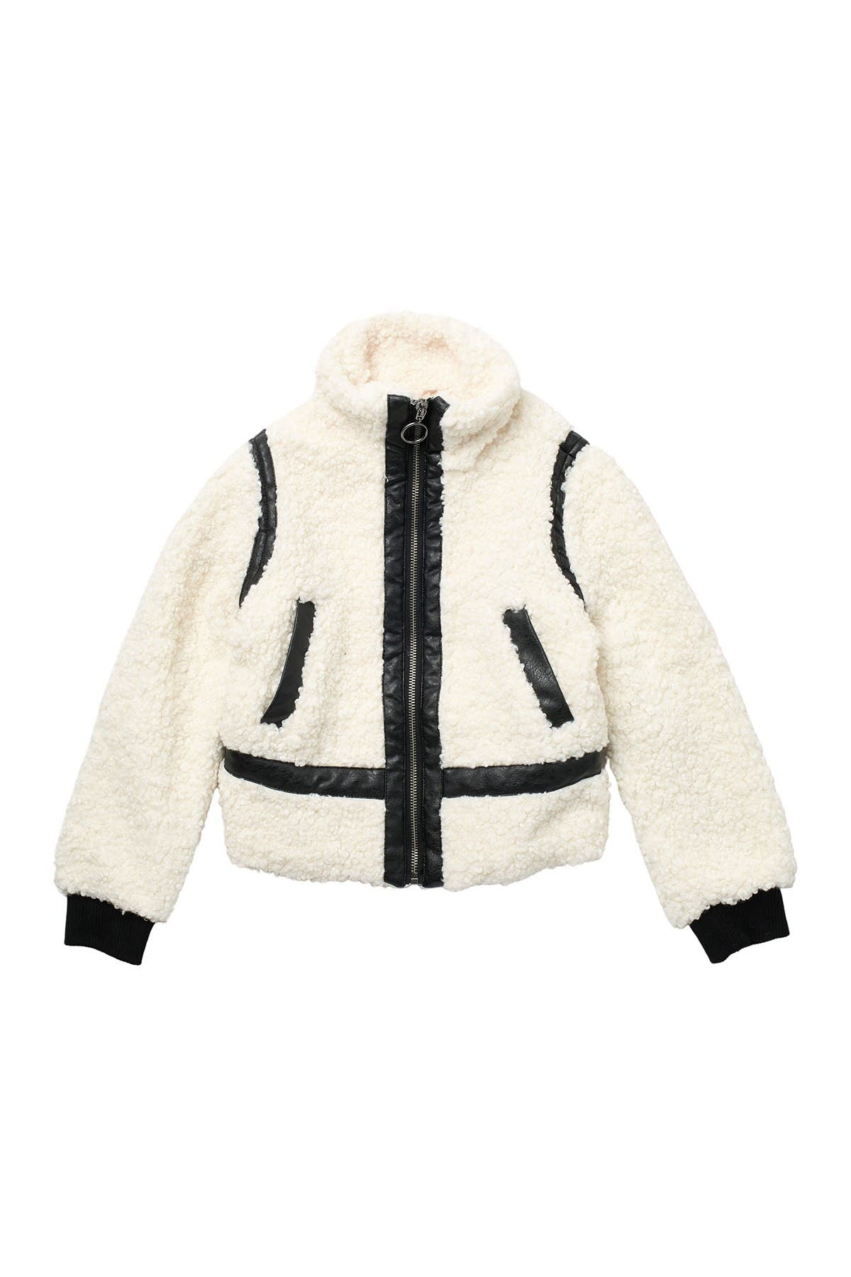 Image of Design History Faux Shearling Jacket