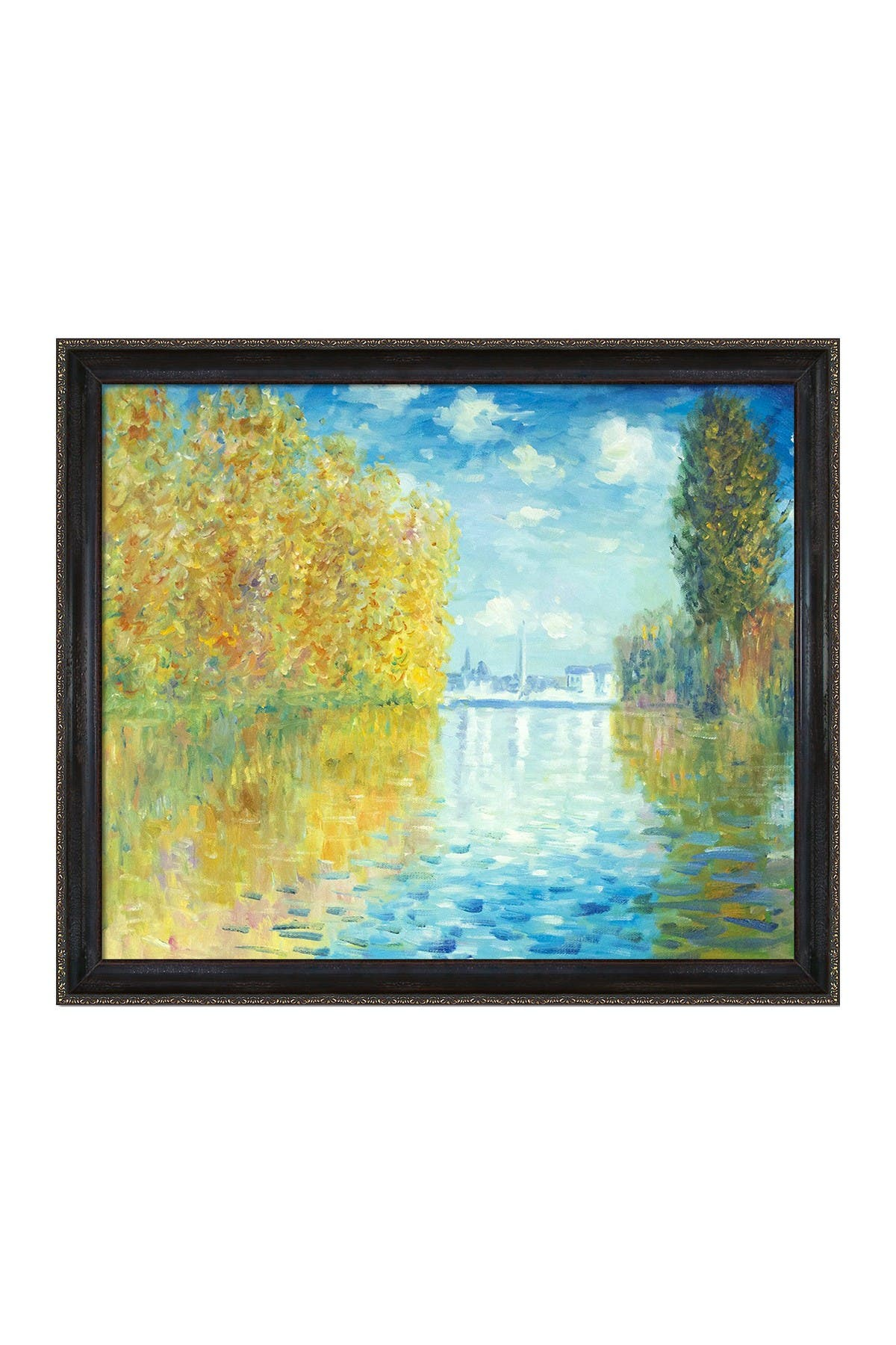 """Image of Overstock Art Autumn at Argenteuil with La Scala Frame - 23"""" x 27"""""""