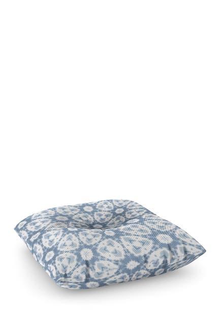 Image of Deny Designs Jacqueline Maldonado Watercolor Shibori Grey Square Floor Pillow