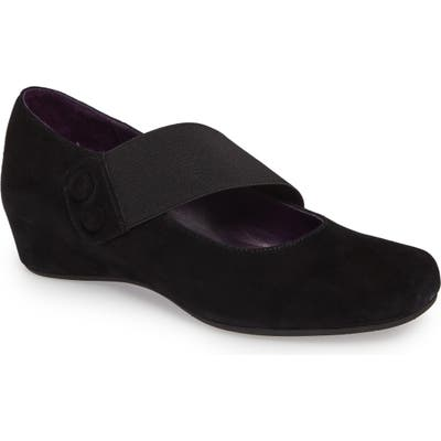 Vaneli Mabel Mary Jane Wedge, Black
