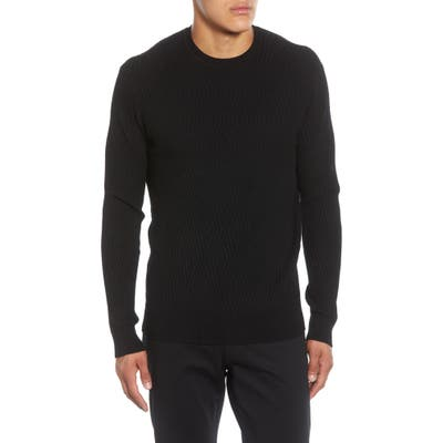 Karl Lagerfeld Paris 3D Diamond Regular Fit Sweater, Black
