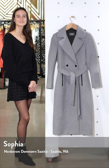 Evaline-S Long Wool Blend Coat, sales video thumbnail