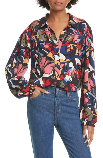 Ba&sh T-shirts CELLINE PRINTED SHIRT