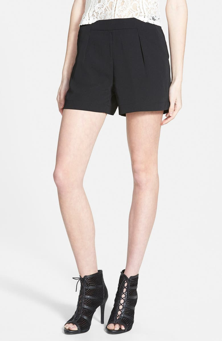 THE HANGER High Waist Shorts, Main, color, 001