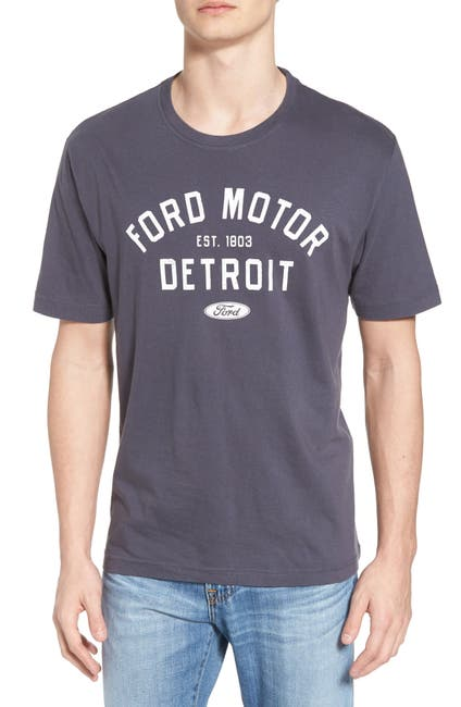 Image of American Needle Ford Motor Graphic Crew Neck T-Shirt