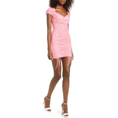 Tiger Mist Toronto Minidress, Pink