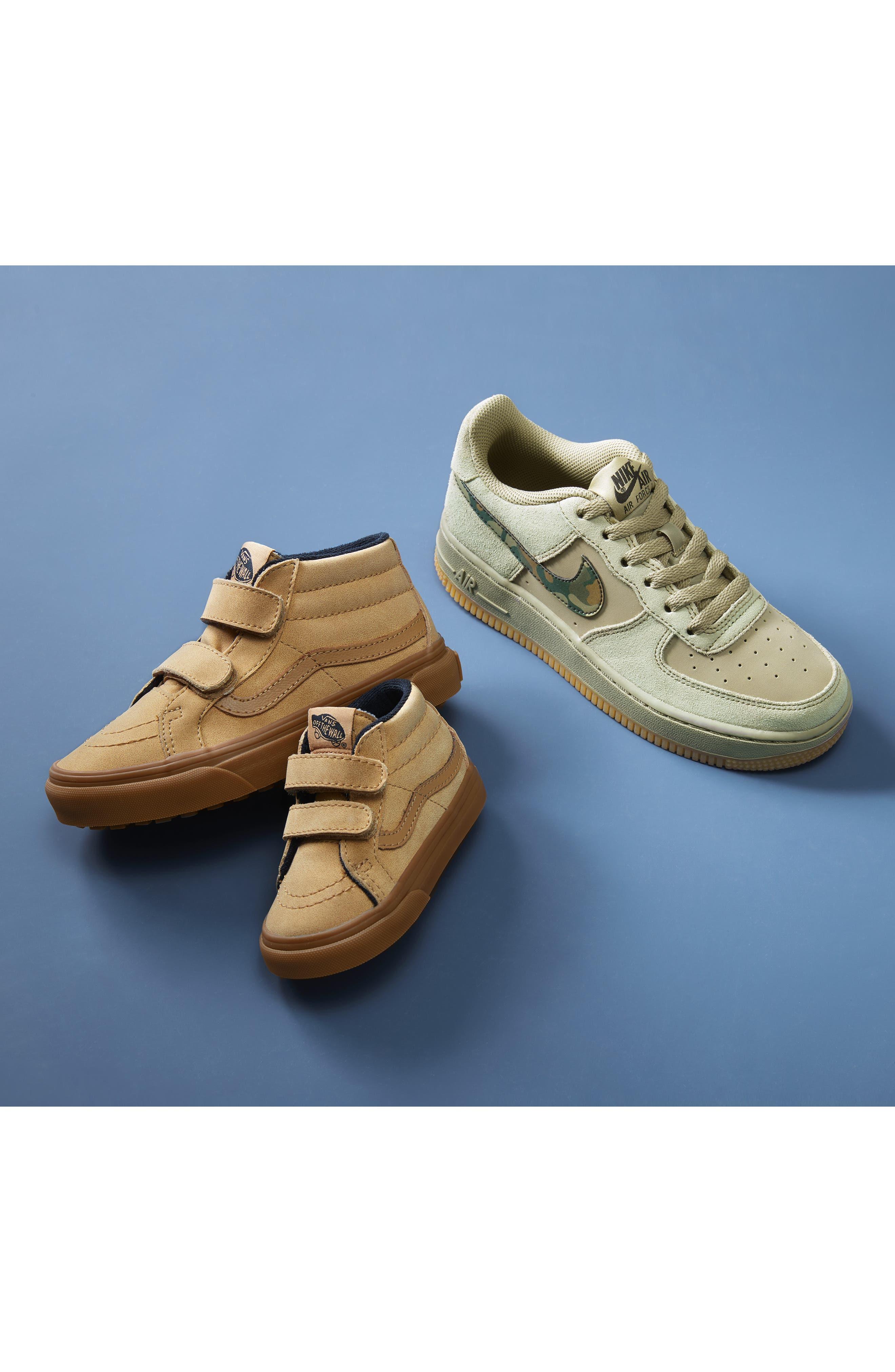,                             Sk8-Mid Reissue V Sneaker,                             Alternate thumbnail 8, color,                             CANVAS BLACK/ TRUE WHITE