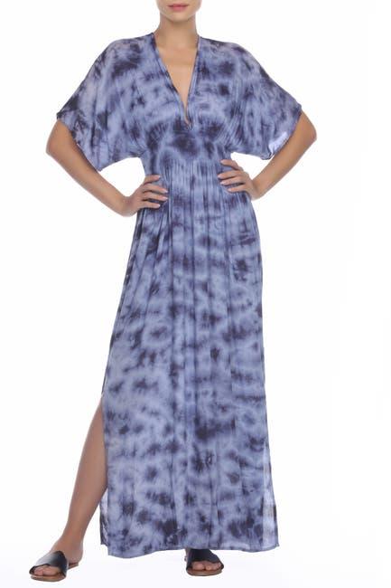 Image of BOHO ME Kimono Side Slit Maxi Dress