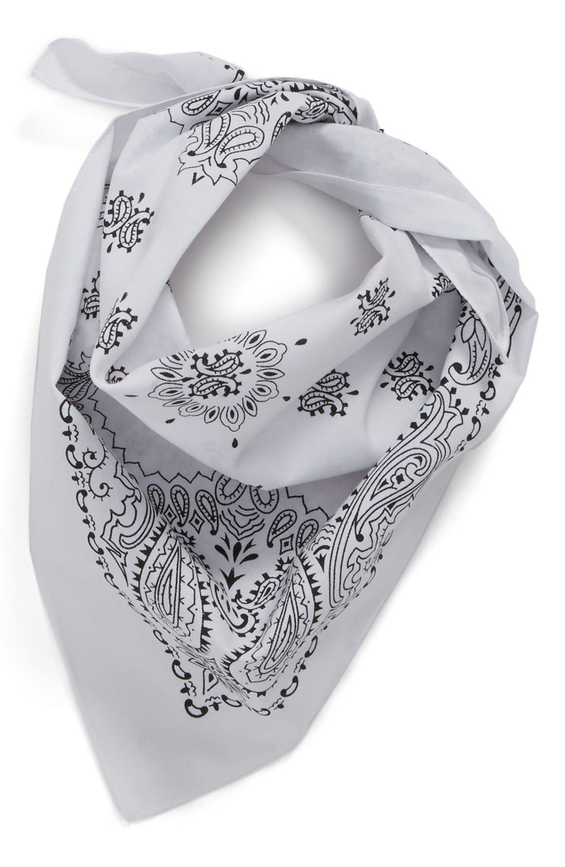 ,                             Cotton Bandana,                             Main thumbnail 4, color,                             100