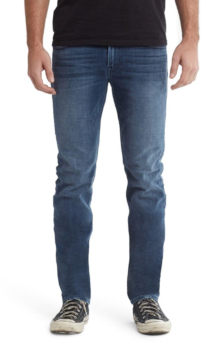 HUDSON JEANS Byron Slim Straight Leg Jeans, Main, color, 400