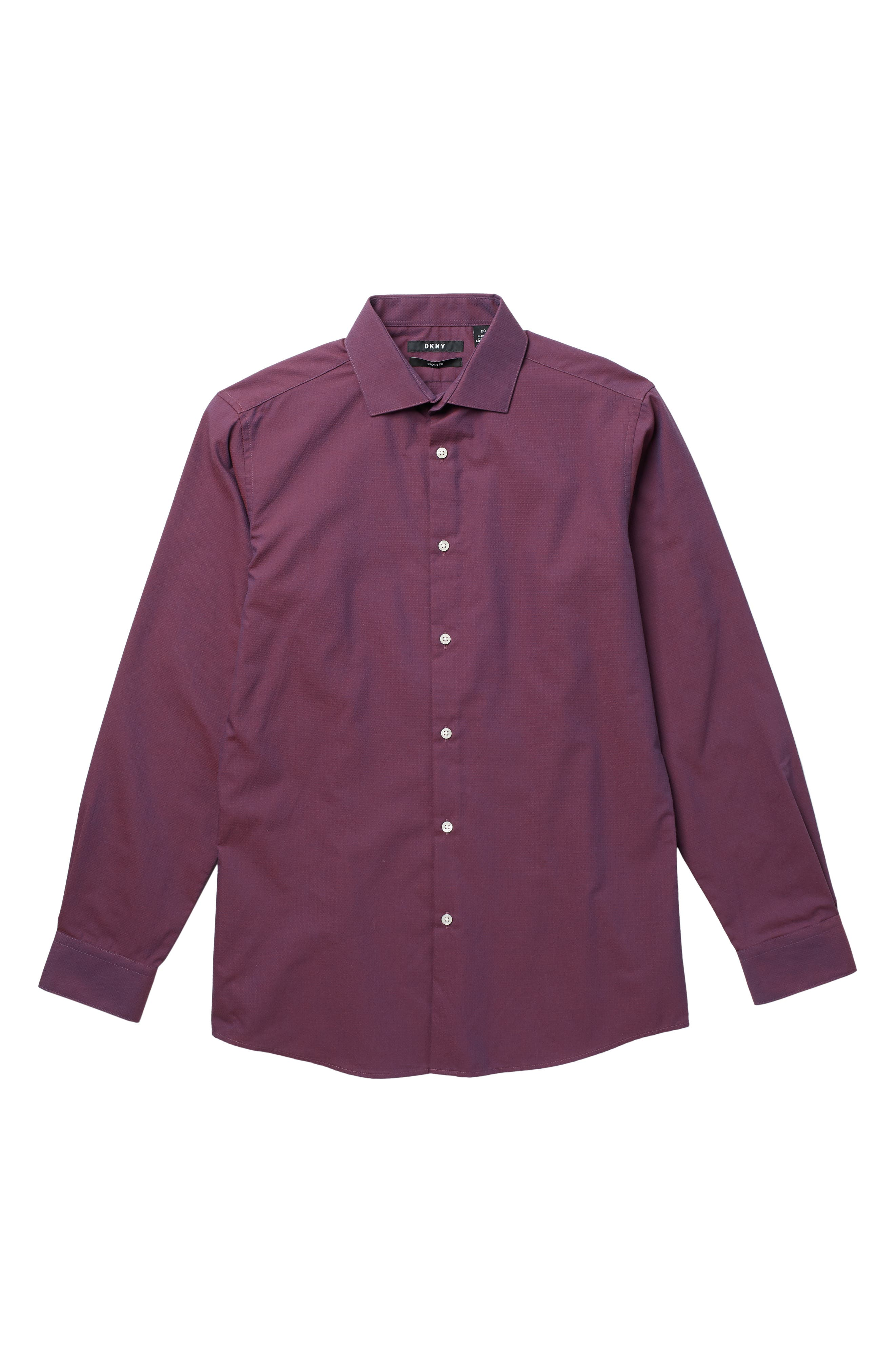 Image of DKNY Neat Cotton Woven Shirt