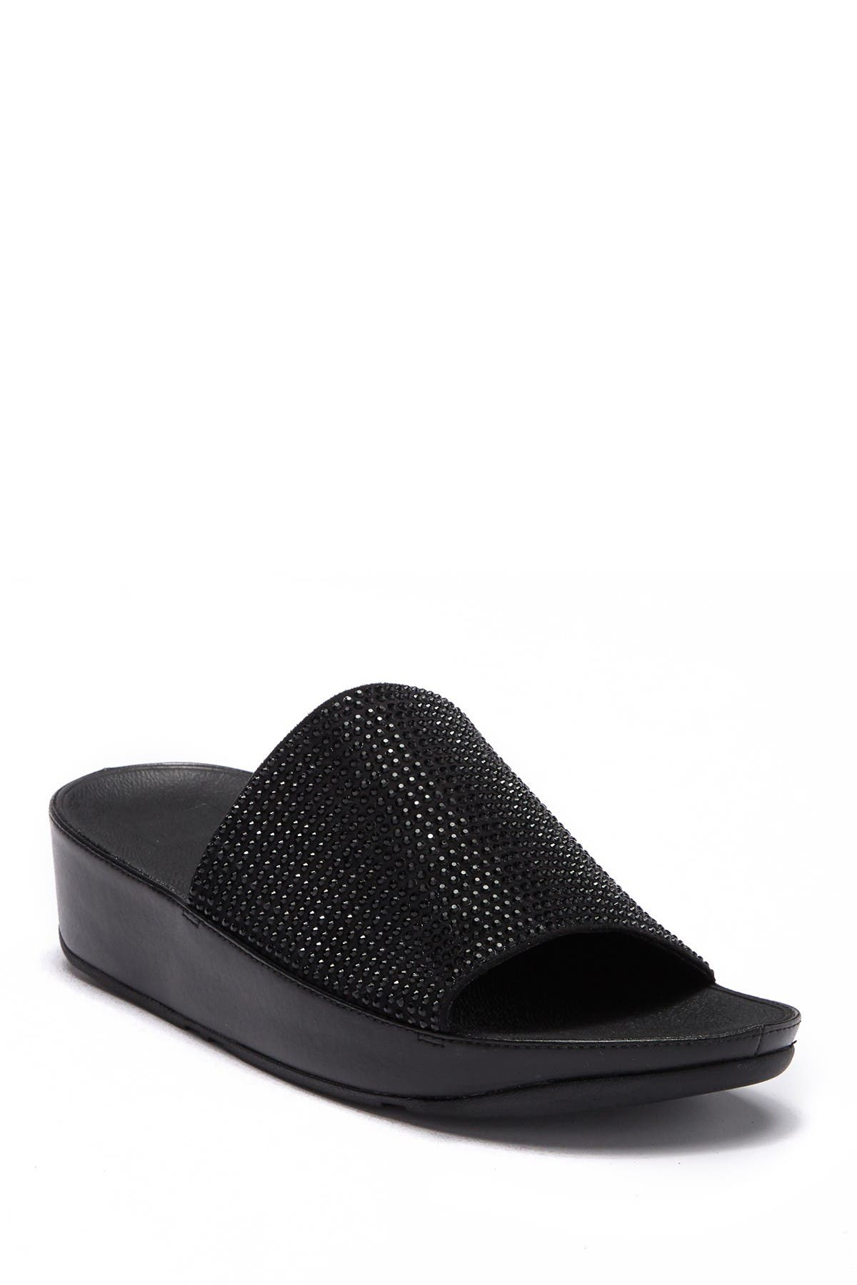 nordstrom black platform sandals