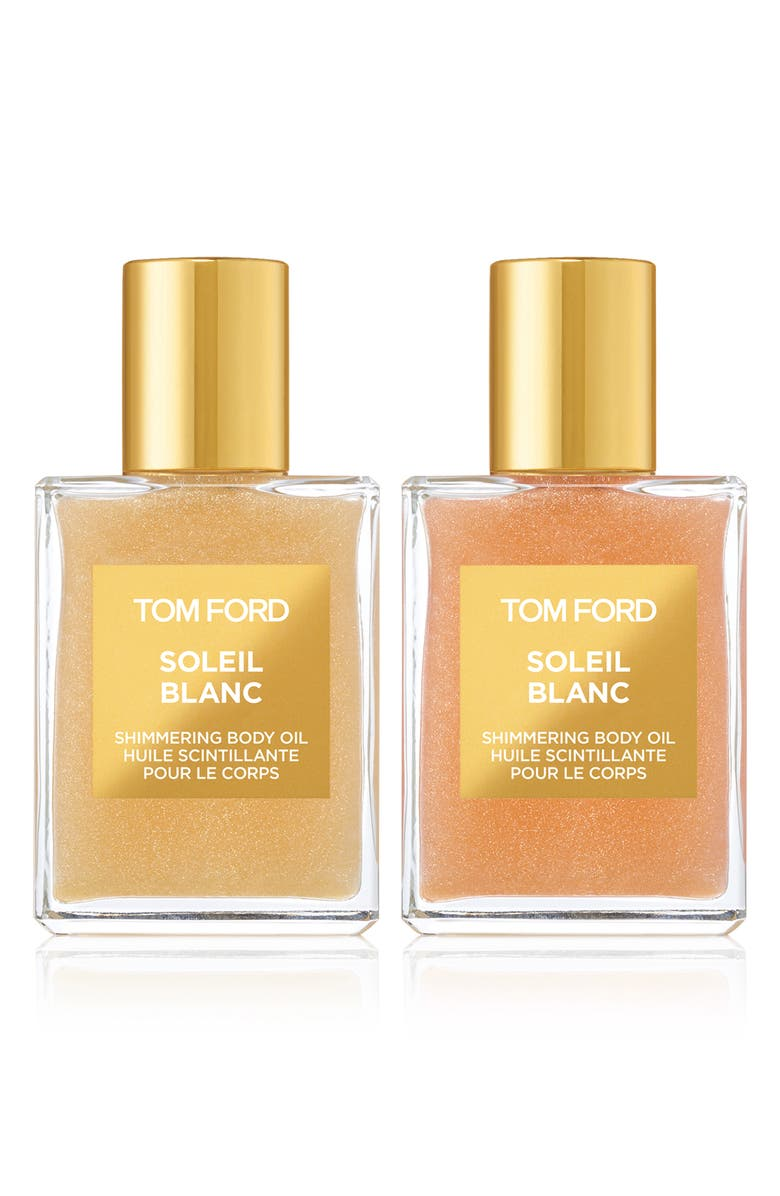 TOM FORD Soleil Blanc Shimmering Body Oil Mini Duo, Main, color, 000