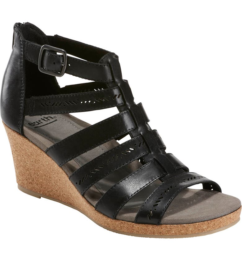 EARTH<SUP>®</SUP> Sunny Strappy Sandal, Main, color, 001