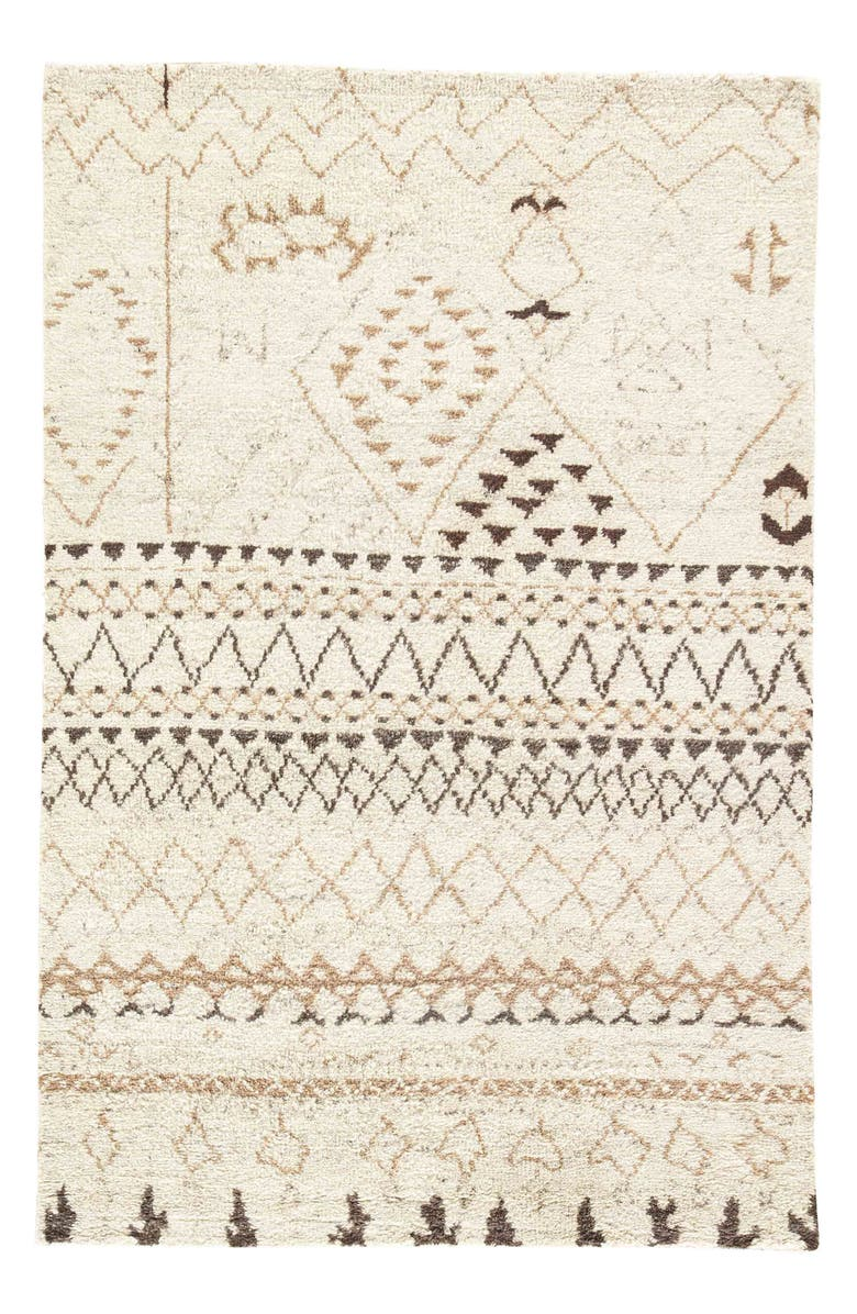 JAIPUR 'Zola Zag' Wool Area Rug, Main, color, 910