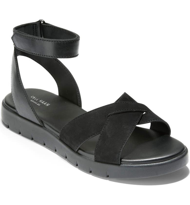 COLE HAAN ZeroGrand Sandal, Main, color, 001