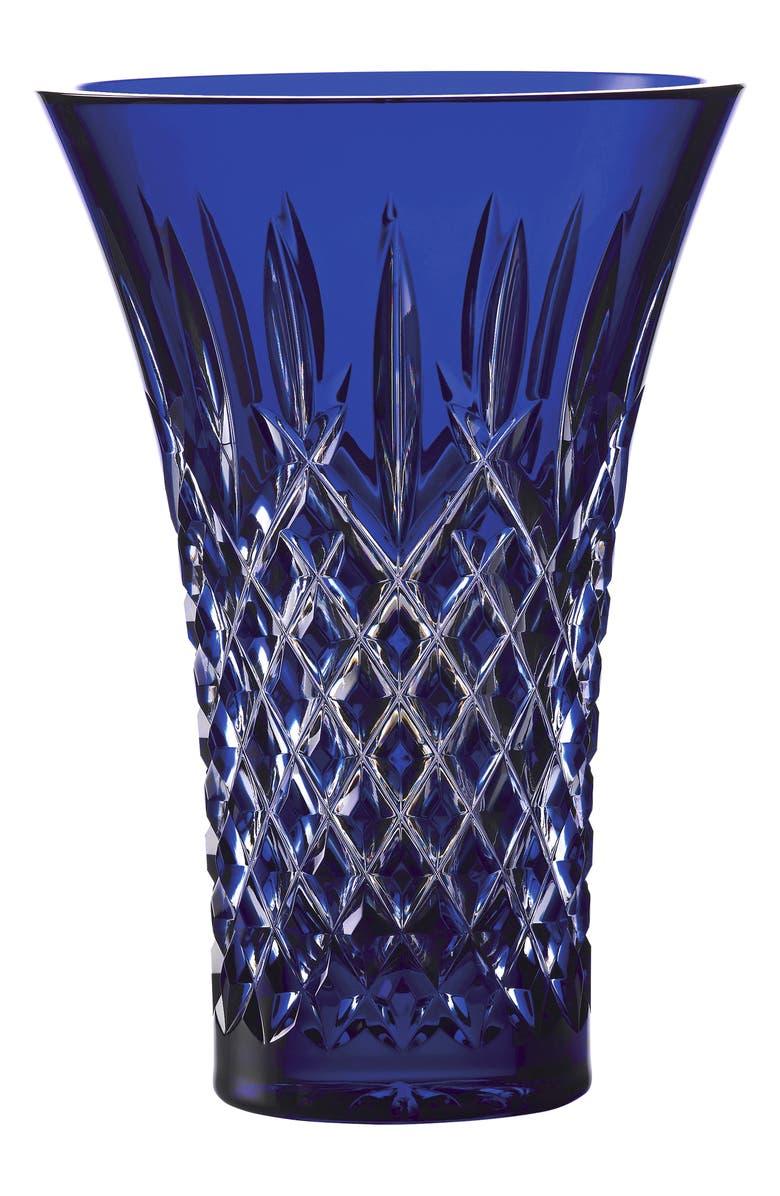 WATERFORD Treasures of the Sea Araglin Lead Crystal Vase, Main, color, 400