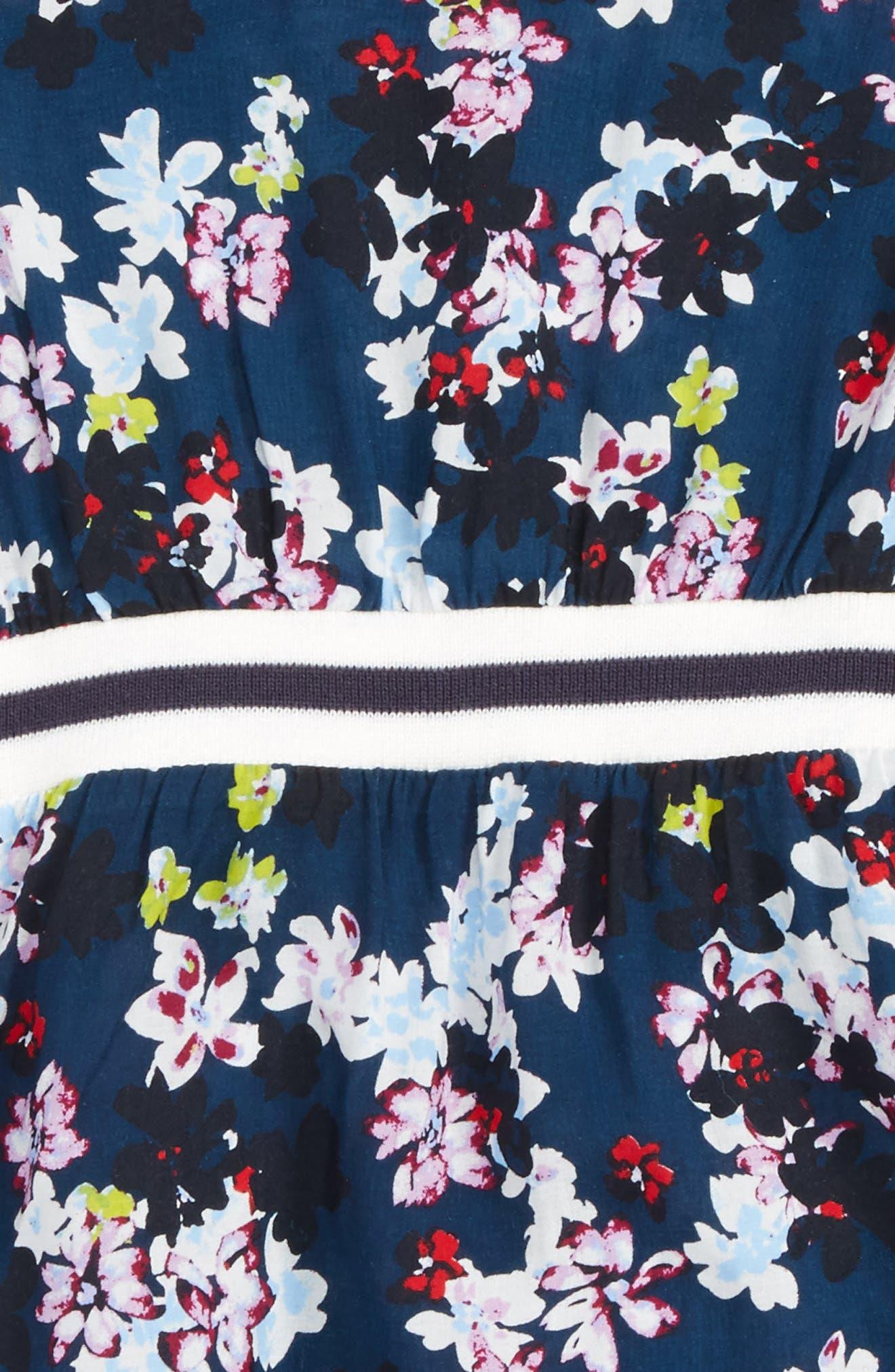 Floral Print Dress, Main, color, 485