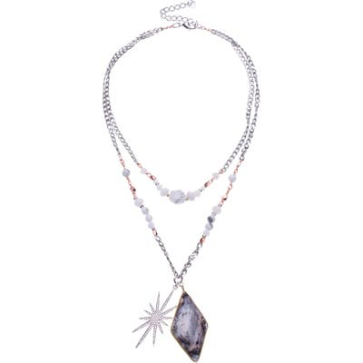 Nakamol Design Howlite Layered Necklace