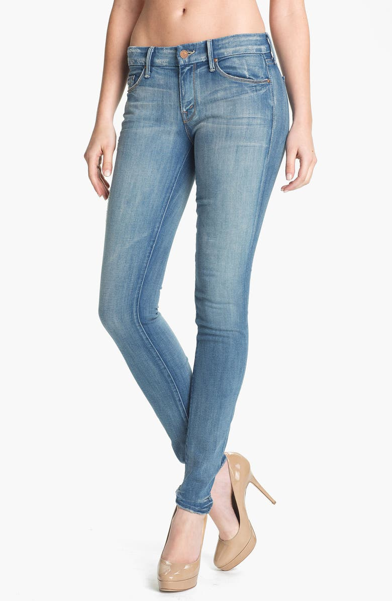 MOTHER 'The Looker' Skinny Stretch Jeans, Main, color, 420